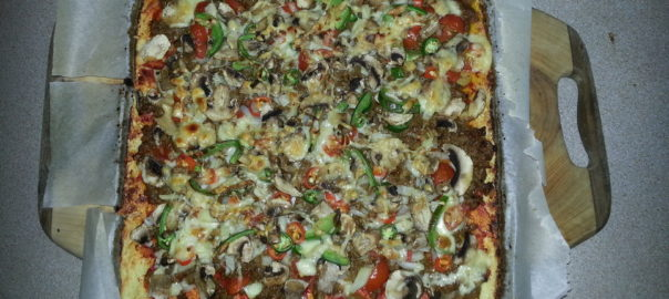 Spend time sharing - a cauliflower pizza!